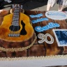 Cake for Gordie Tapp's 90th Birthday party at the Country and Blues BBQ Festival in Burlington.