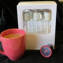 Boxed for giving at the office or anywhere you know a coffee lover!