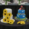 Bride's and groom's cakes