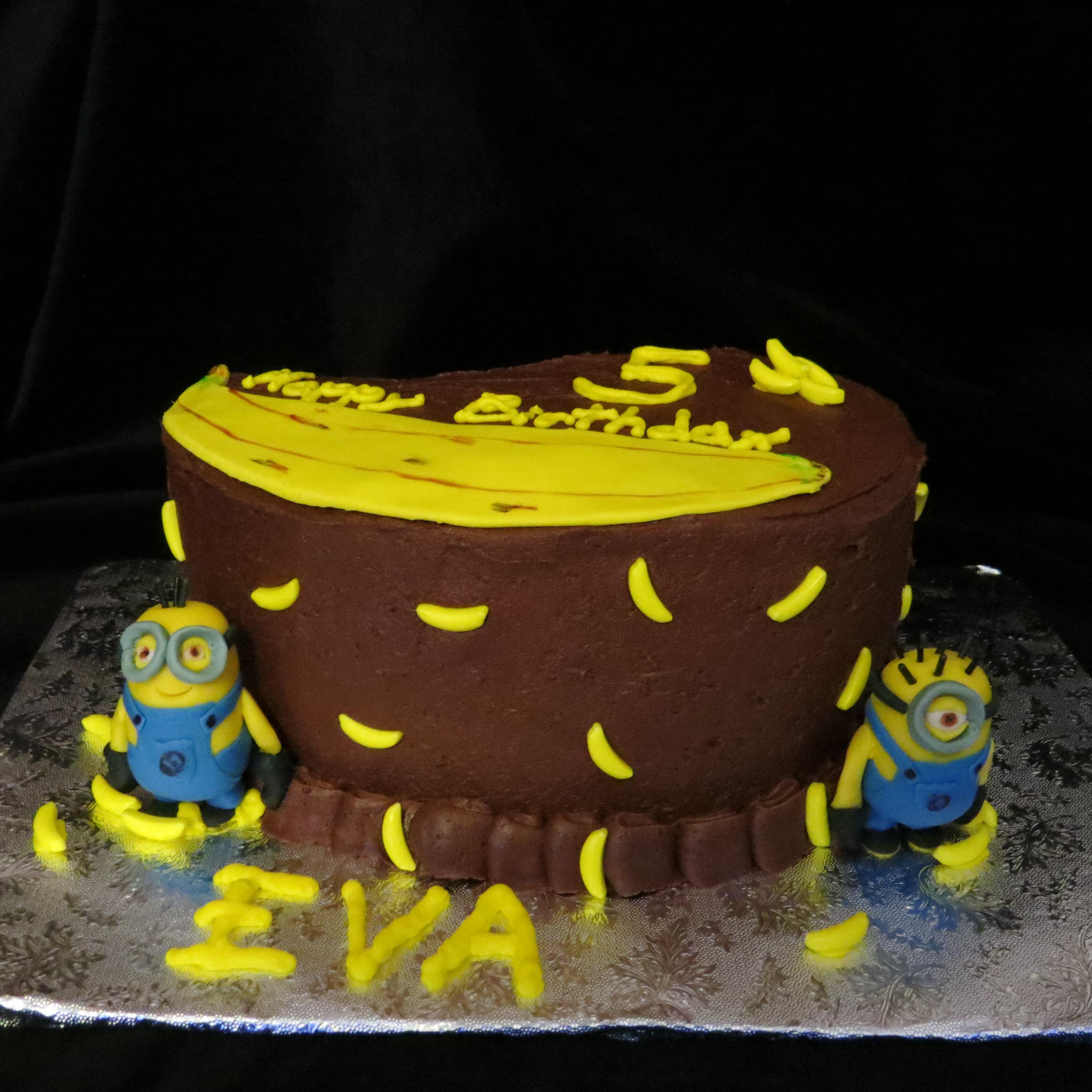 Minion Cake Little Taste of Heaven