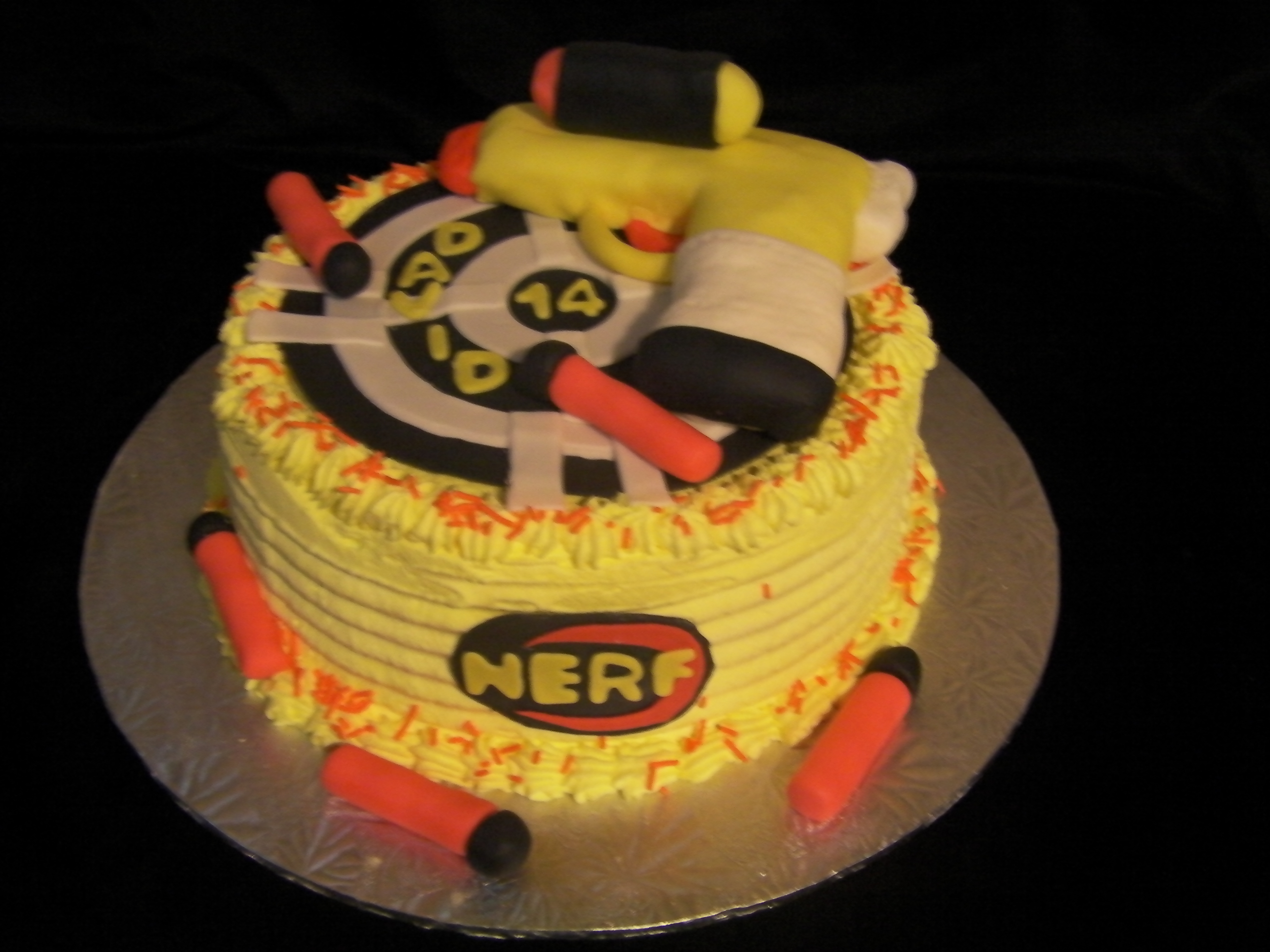 Nerf Cake Little Taste of Heaven