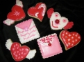 "Hearts and love letters for Valentine's Day or any other time you want to say ""I love you""."