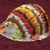 Turkey Cake - great for Thanksgiving Feast Centerpiece.