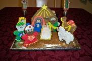 Nativity Scene Gingerbread