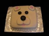 Marshamallow Fondant Polar Bear