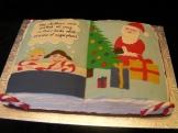 Twas the night before Christmas.... Storybook cake