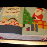Twas the night before Christmas.... Storybook cake
