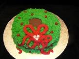 Chocolate Paradise Wreath Cake