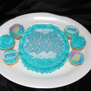 Cake and cupcake edible images for your event theme.