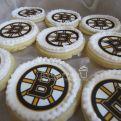 Boston Bruin cookies