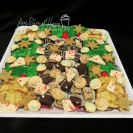 Sugar cookies, Grinch loaf, chocolate fudge, gingerbread fudge, truffles, cinnamon coffee cake