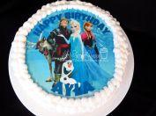 """Frozen"" edible image"