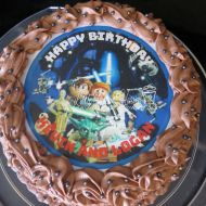 Lego Star Wars edible image