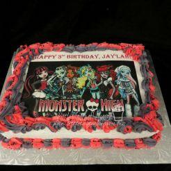 Monster High edible image