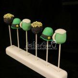 St. Patrick's Day Cake pop variety