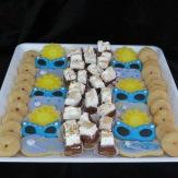 S'mores bars, sugar cookies, cinnamon sugar donuts